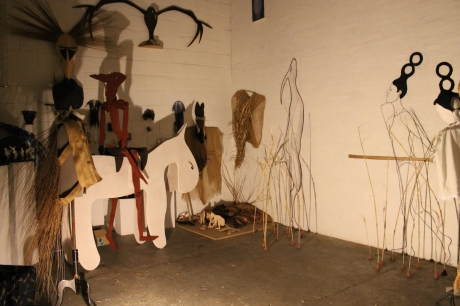 studio ready for visitors